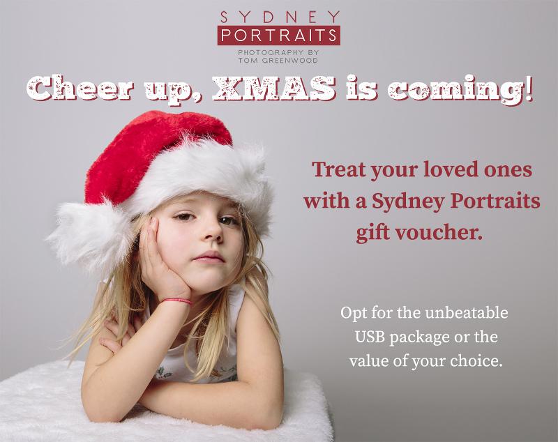 Sydney Portraits Xmas gift voucher