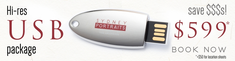 Sydney Portraits USB offer