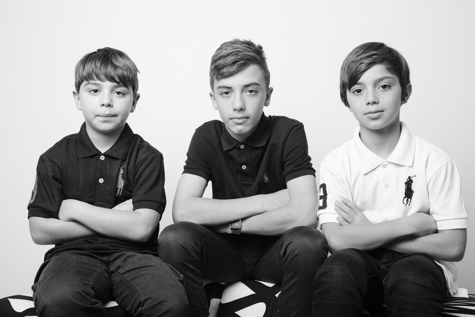 Three boys and a dog {family portraits - Sydney} | Baby